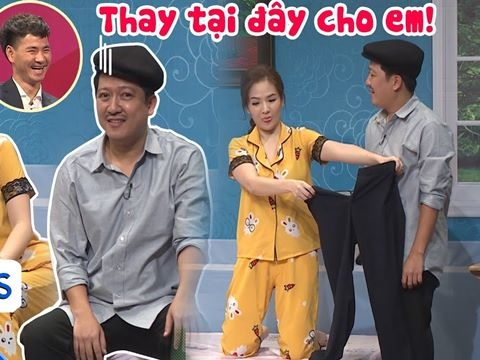 Đan Lê bắt Trường Giang thay quần ngay trên sân khấu, bóc phốt tình sử Xuân Bắc