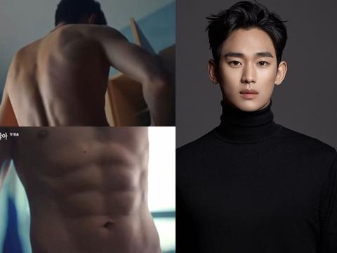 Vừa tái xuất, Kim Soo Hyun đã cởi áo khoe da thịt khiến fan xịt máu mũi
