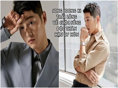 Song Joong Ki lần đầu trải lòng về cuộc sống độc thân và sóng gió hậu ly hôn