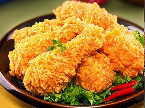 Bí quyết làm món gà rán tại nhà