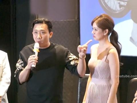 Trấn Thành lép vế khi 'đấu khẩu' với Hari Won