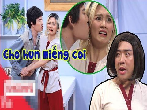 Thiều Bảo Trang tái mặt khi bị Quang Trung cưỡng hôn