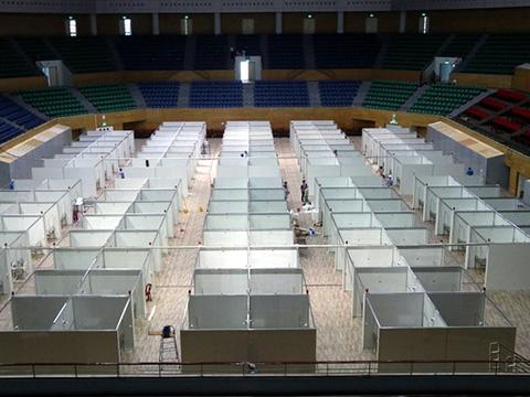 96 giờ thi công bệnh viện dã chiến 2.000 giường ở Đà Nẵng