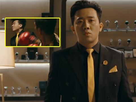 Trấn Thành bị đấm sấp mặt ở... teaser phim trinh thám mới