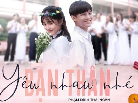 Phạm Đình Thái Ngân khoe vẻ nam thầm trong MV thanh xuân ''Yêu nhau nhé bạn thân''