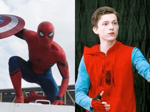 Lộ clip: Tom Holland thời non choẹt đi thử vai Spider-Man
