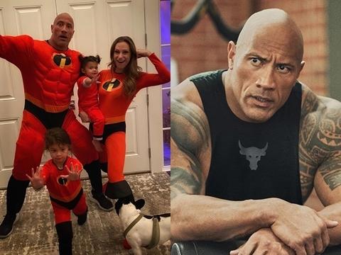 NÓNG: Cả gia đình nam diễn viên The Rock nhiễm COVID-19