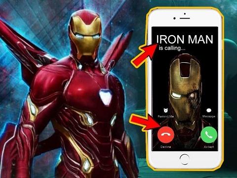 Marvel tiết lộ số điện thoại để tâm sự với Iron Man