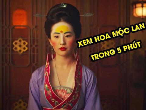 Xem 'Mulan2020' của Lưu Diệc Phi trong 5 phút