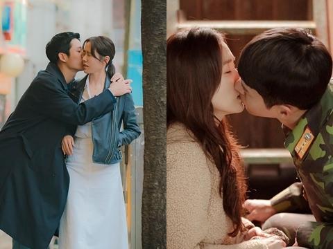 Phản ứng trái ngược của Son Ye Jin khi diễn cảnh hôn với Jung Hae In và Hyun Bin