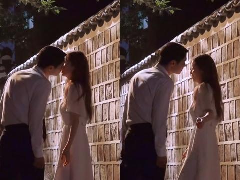 Seohyun bị bạn diễn hôn đến suýt ngã trên phim trường