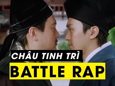 Châu Tình Trì Battle Rap khiến đối thủ ộc máu mồm
