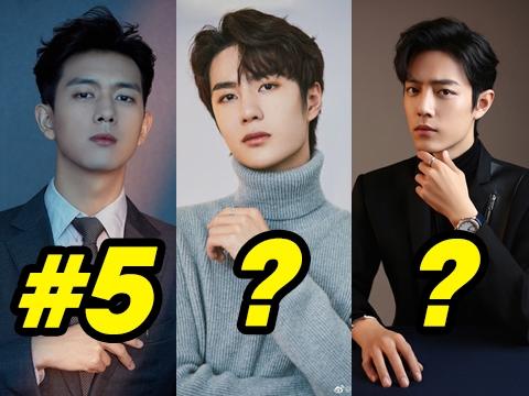 Top 10 nam diễn viên được yêu thích nhất Cbiz 2020