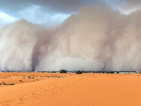 Sa mạc - nơi sản sinh những cơn bão kinh hoàng nhất