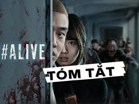 7 phút xem hết phim Zombie Hàn cực gay cấn #ALIVE