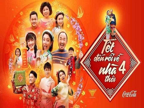 HÀI TẾT 2021 - TẾT ĐẾN RỒI VỀ NHÀ THÔI 4 (Thu Trang, Diệu Nhi, Tiến Luật)