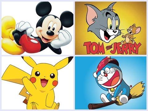 6 Nhân vật hoạt hình nổi tiếng nhất thế giới (Phần 2)
