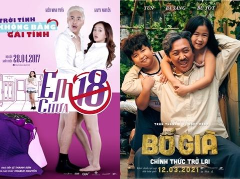 Top 5 phim Việt Nam có doanh thu cao nhất mọi thời đại